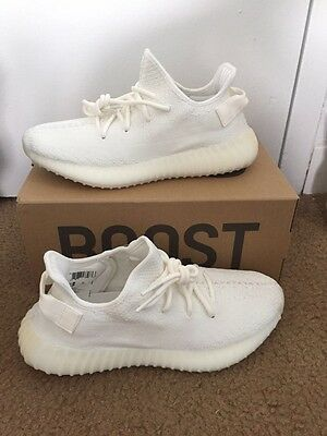 yeezy boost 350 v2 cream white size 8 With Footlocker Receipt