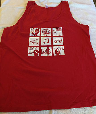HANSON Shout It Out Graphic Tank Top 2010 Merchandise