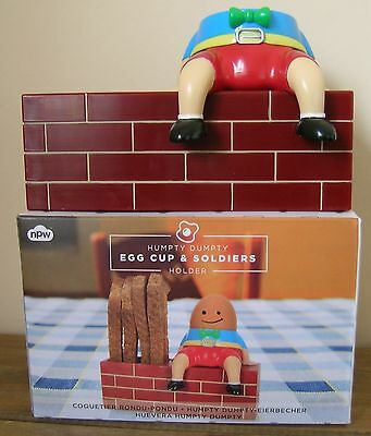 Humpty Dumpty Egg Cup And Soldiers Holder
