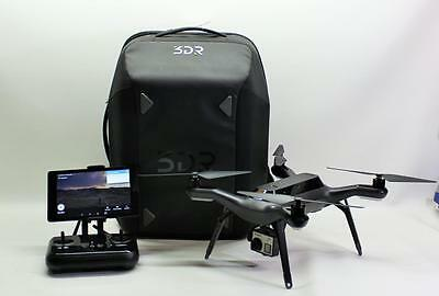 3DR Solo Drone-GoPro Hero 4 Black-Gimbal-4x Battery-Backpack-Controller-Tablet