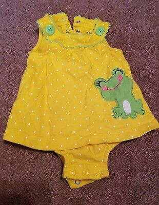 Carter's baby girl one piece 6 months