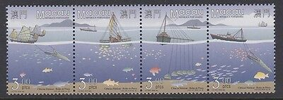MACAU 1996 Fishing Nets MINT set se tenant sg952a 952-955 MNH