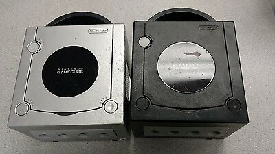 Lot of 2 Nintendo Gamecube systems, *For Parts*