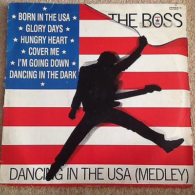 "The Boss - Dancing In The Usa (Medley) Bruce Springsteen - 12"" Single  Vinyl"