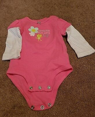 Carter's baby girl one piece 9 months