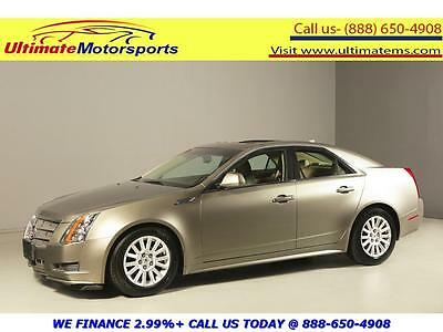 "2010 Cadillac CTS 2010 LUXURY PANO LEATHER HEATSEAT 17""ALLOYS 2010 CADILLAC CTS LUXURY PANO LEATHER HEATSEAT BOSE BLUETOOTH 17""ALLOYS"