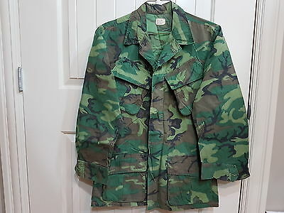 Lime ERDL Camo Jacket, Lowland Jungle Camouflage Coat, Vietnam, Leaf, SF