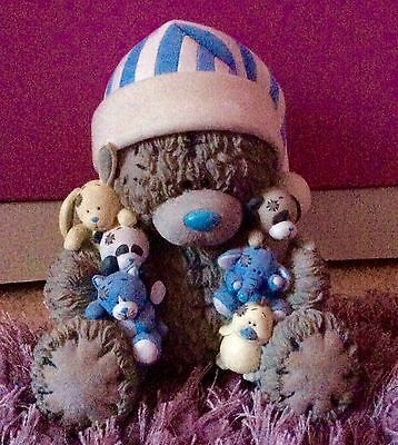 Tatty Teddy. Me To you Bear. Night Time Pot Figurine, With Blue Nosed Friends