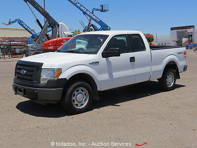 2010 Ford F-150  2010 Ford F150 Truck 4WD Supercab Extended Pickup Truck 4.6L V8 A/T bidadoo
