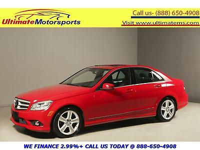 "2010 Mercedes-Benz C-Class 2010 C300 SUNROOF LEATHER BLUETOOTH 17""ALLOYS 2010 MERCEDES-BENZ C300 SUNROOF LEATHER PWR SEATS 17""ALLOYS BLUETOOTH RED"