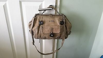 LUCKY PENNY ANTHROPOLOGIE LEATHER HAND / SHOULDER BAG with detachable strap
