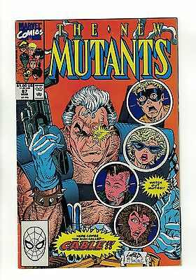 The New Mutants Vol. 1 - #87 | 1st Appearance of Cable | Marvel Comics - 1990