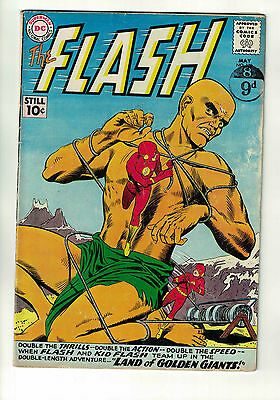 The Flash Vol. 1 - #120 | 1st Flash & Kid Flash Team | DC Comics - May 1961