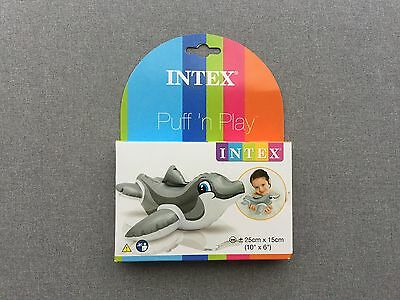 New Intex Small Inflatable Dolphin For Kids Summer Pool & Shower Toys