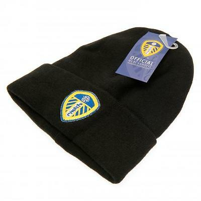 Leeds United FC Knitted Hat Official Licensed Product Size Adult Unisex Present