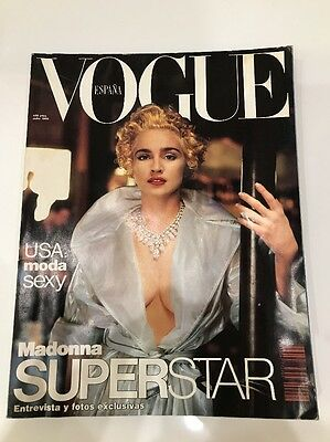 Madonna Magazine Spanish No Promo Rebel Heart Vogue