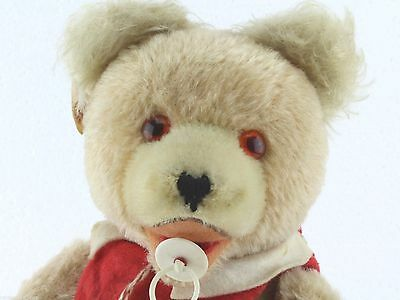 Fechter Baby Teddy ca. 30 cm, nice vintage baby teddy 11,8 inches 50's??