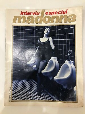 Madonna Magazine Spanish No Promo Rebel Heart Interviu 1990
