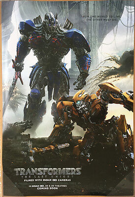 TRANSFORMERS THE LAST KNIGHT MOVIE POSTER 2 Sided ORIGINAL INTL Version B 27x40