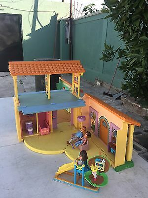 Dora The Explorer Talking Dollhouse W/furniture And Accesories All Sounds Work
