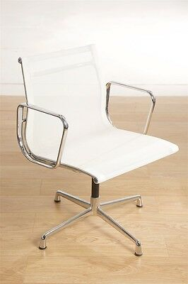 Charles Eames Vitra Style Office Chair Mesh White