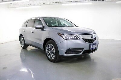 2016 Acura MDX  2016 Acura w/Tech/AcuraWatch Plus