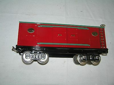 Mth  Tinplate Traditions Standard Gauge 46Th Tca Convention Box Car   Mint