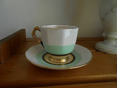 Art Deco Tuscan Plant Cup & Saucer