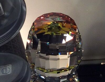 Swarovski Barrel Granate Revolution Paperweight VOLCANO 7453 60, 2016 ERV: $1580