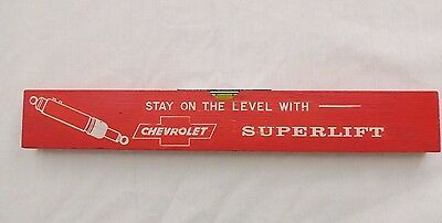 Vintage Chevrolet Promo Level Stay on the Level With Chevrolet SUPERLIFT