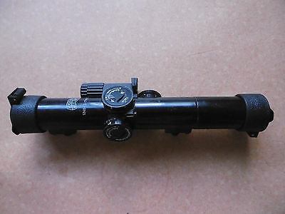 Zeiss Hensoldt Scope ZF 4 x 24 Model 2 included lighting unit