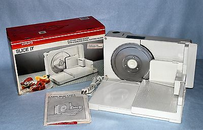 Krups Slice It Electric Food Cheese Meat Slicer, #213