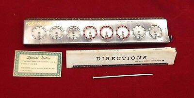 "Vintage ""Addometer"" Mechanical Adding Machine - Made in USA"