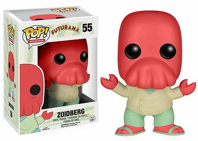 Funko Pop Animation: Futurama - Zoidberg Vinyl Figure