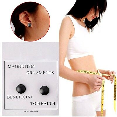 SLIM Auricular Bio-Magnetic Therapy Earrings Studs for Slimming-Weight Loss UK