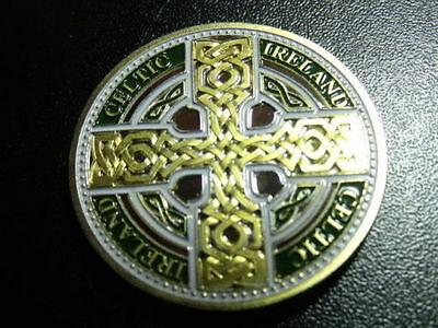 Irish Celtic  Cross Collectors Coin