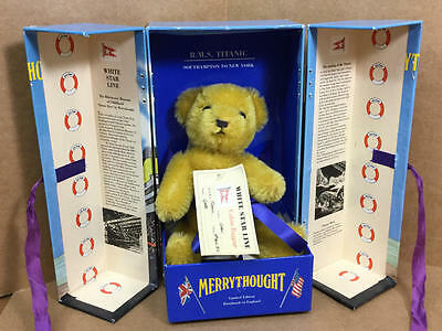 """Merrythought Ribchester Museum Of Childhood Titanic Bear 8"""""""