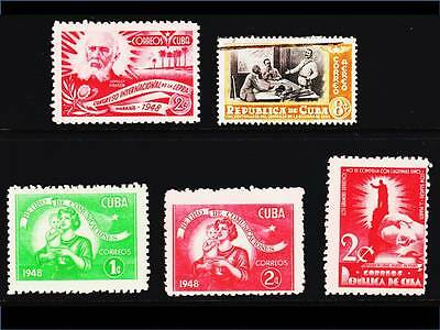Spanish Caribbean 1948-50. Wide range of local social issues. Used, MM