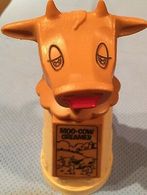 VINTAGE♡ Moo-Cow Creamer♡Whirley Plastic Milk Cream Server Warren PA USA