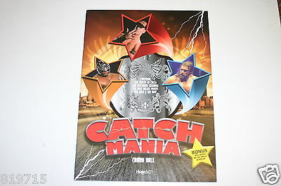 Catch Mania Wwe Wrestling Book Canonball With 18 Detachable Catch Cards