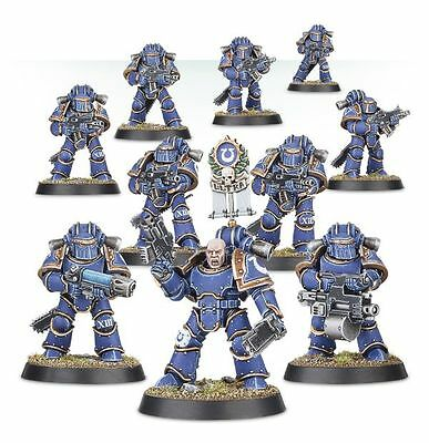 Horus Heresy Burning of Prospero Mark III MK3 Space Marine Legion Veterans Squad