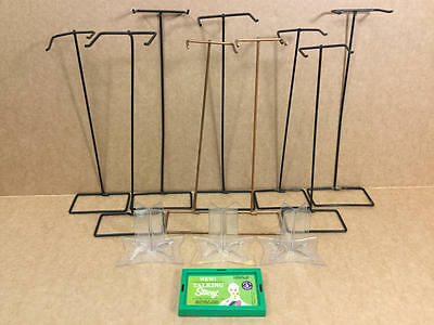 Vintage Barbie Stand Lot Wire & Acrylic