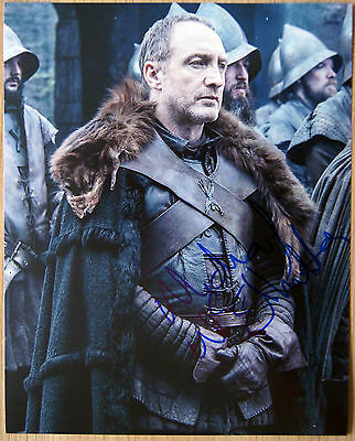 Autogramm 20x25cm MICHAEL McELHATTON (Game of Thrones) *handsigniert* COA