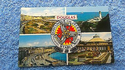 POSTCARD DOUGLAS ISLE OF MAN BAMFORTH & Co          A16