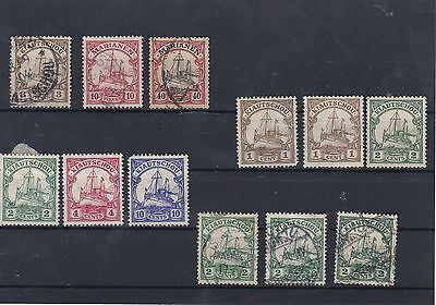 German Post Offices In Kiaochow MM (Some Paper On Backs)+Used Stamps  Ref: R6617