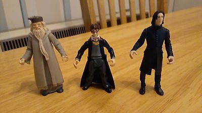 Harry Potter set of  3 action figures