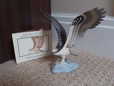 Franklin Mint - Noble Birds Of The World - Osprey - Excellent