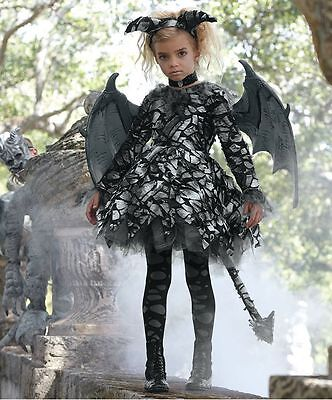 Girl Goyle Costume for Girls by Chasing Fireflies 2 piece set Size 12 NWT