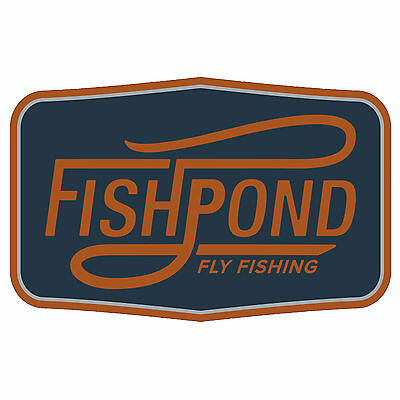 "Fishpond Double Haul Sticker 5"" Decorative Bumper Fly Fishing"