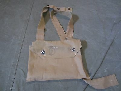 60M Wwi British Hypo Gas Mask Carry Bag
